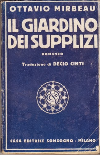 "Traduction italienne du ""Jardin des supplices"", Sonzogno, 1920"