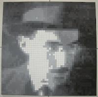 Fernando Pessoa: Pintura Quadrículas 13