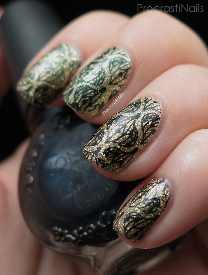 12 Days of Christmas Nail Art: Christmas Ornament Stamping ...