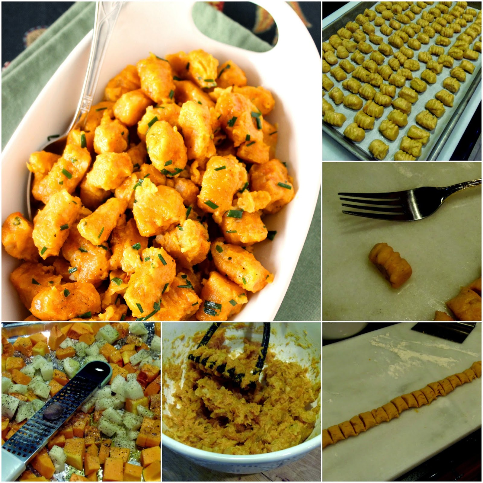 Butternut Squash and Potato Gnocchi Recipe via Kudos Kitchen By Renee