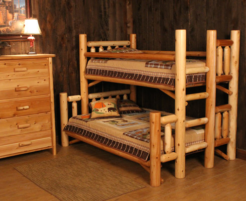 Rocky Top Log Furniture Railing Blog 30 Off Rustic Log Beds