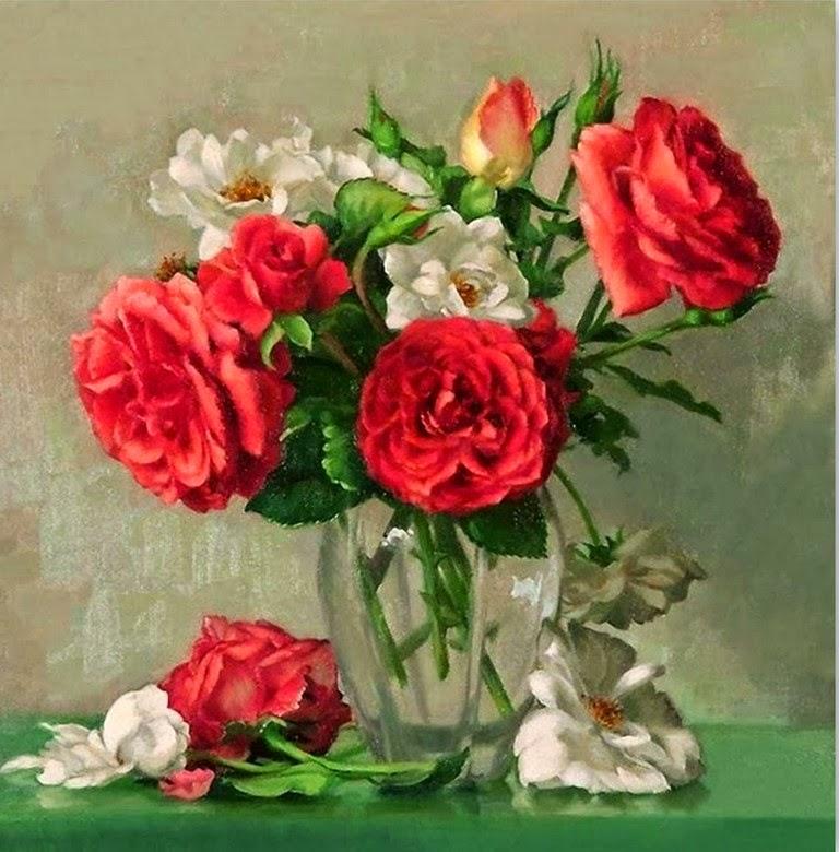 oleos-de-flores-rojas-cuadros
