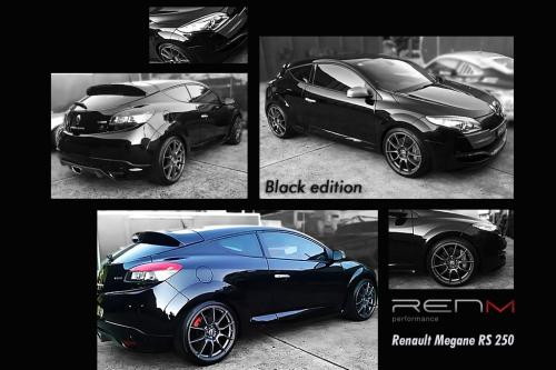 RENM RS 250 Black Edition based on Megane RS