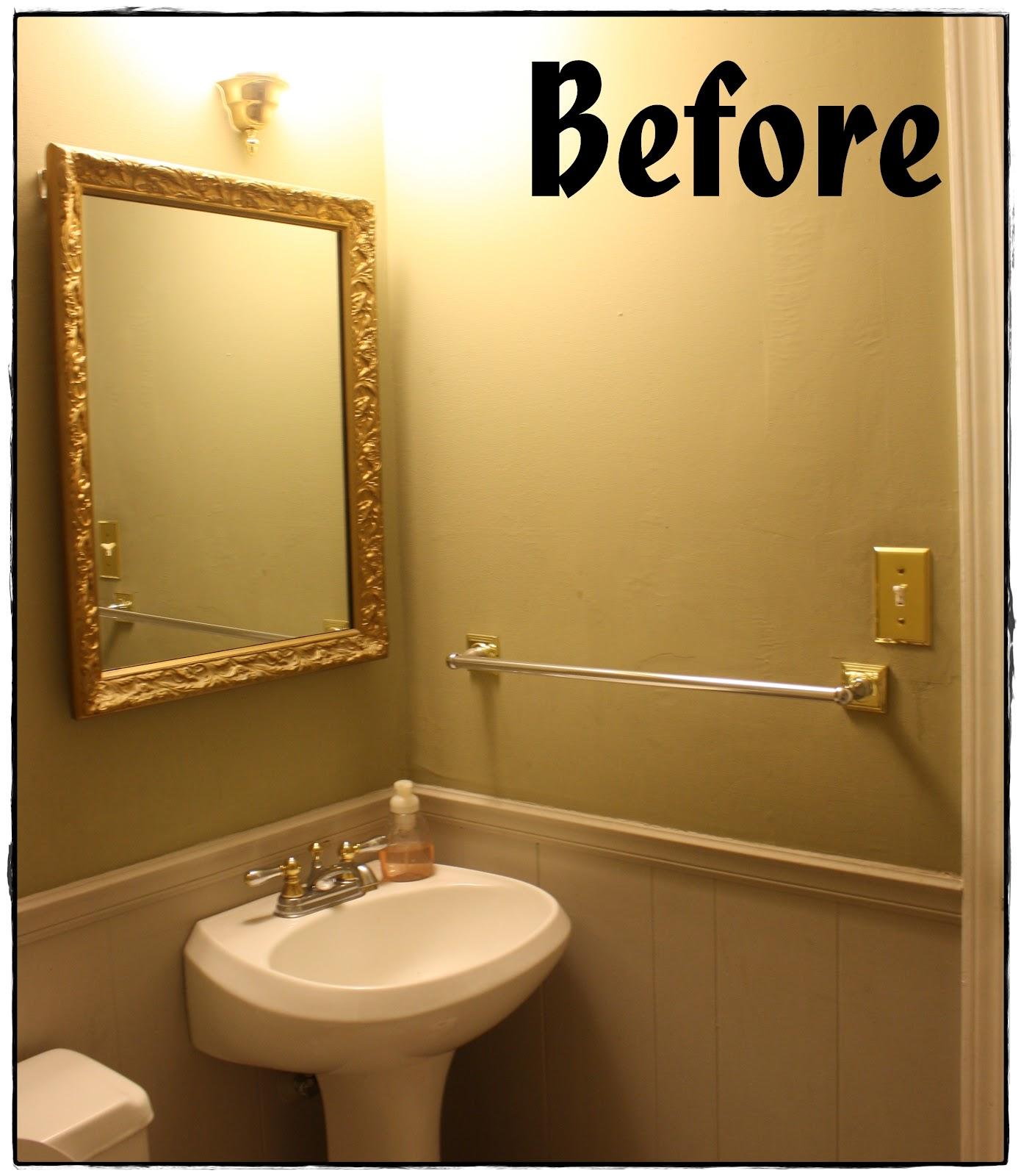 It 39 s my life bathroom redo for Redoing bathroom walls