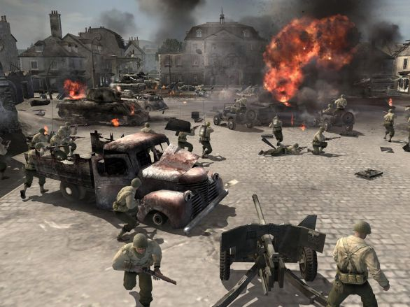 company of heroes pc game pcgame95. Black Bedroom Furniture Sets. Home Design Ideas