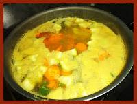 Sopa de legumes quase pronta