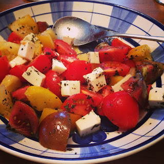 Try tofu in your next tomato salad
