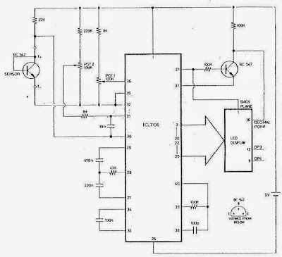 ICL7106 Circuit Diagram