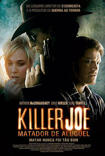 "Poster do filme ""Killer Joe - Matador de Aluguel"""