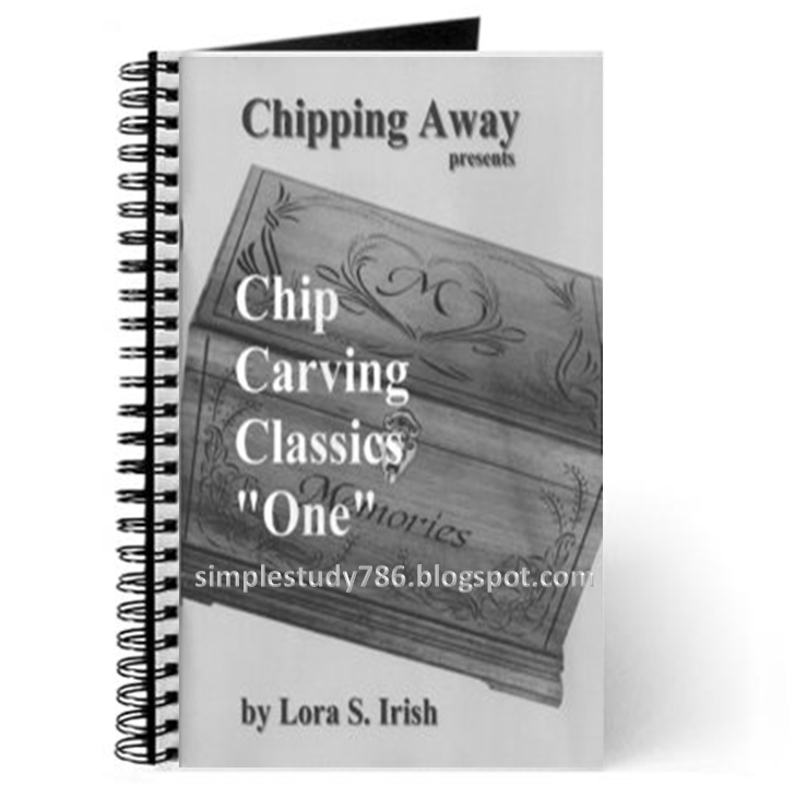 Chip carving classics quot one simple study