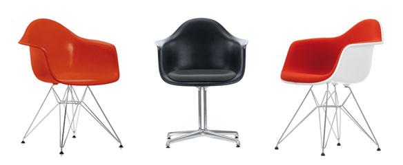 decoración Eames plastic armchair 1950