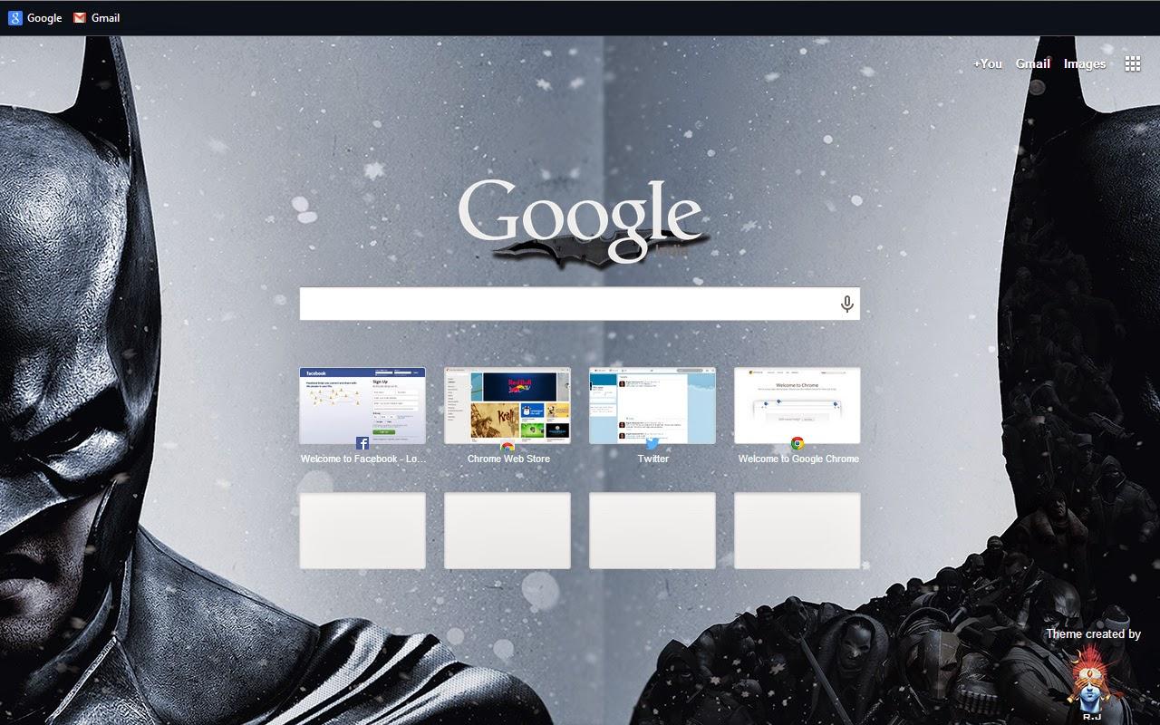 Google themes batman - Fullscreen View