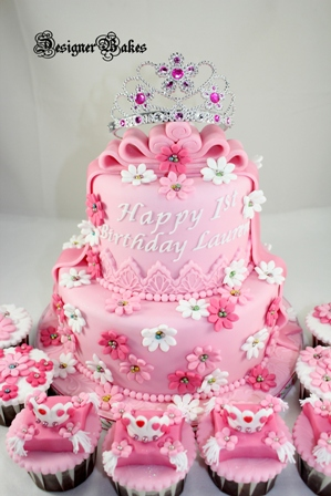 Designer Bakes: Princess Themed Cake