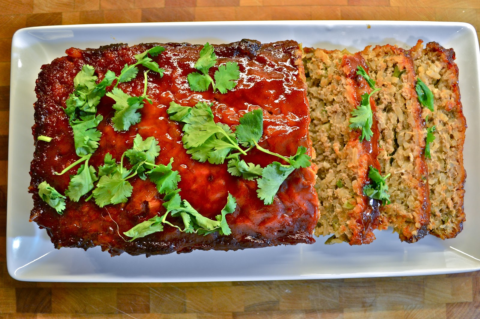 Asian style meatloaf
