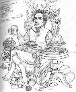 God of Gelatin, Regency era and primal. Delicious treats!