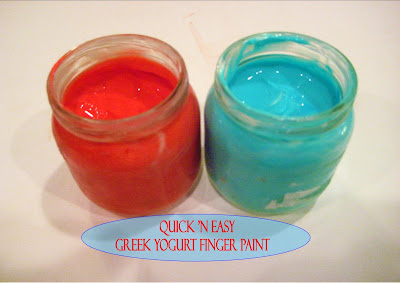 Edible Greek Yogurt Finger Paint Recipe
