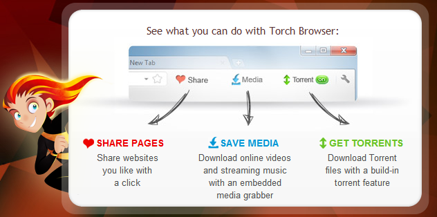Torch Browser 39.0 Full Free Download