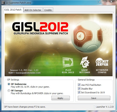 Download PES 2012 Liga Indonesia + TImnas Indonesia Terbaru | Adi Blog