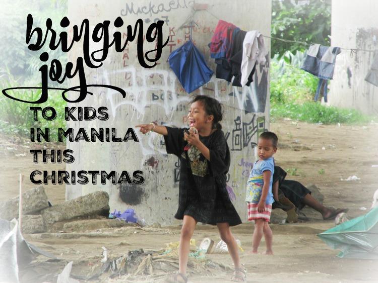 Bringing joy to kids in Manila this Christmas