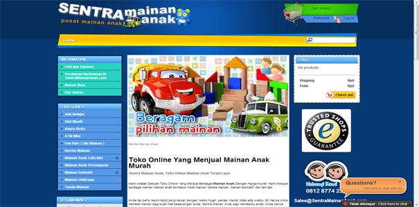 Mainan Anak, polisi online