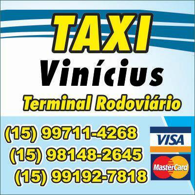 Precisou de táxi? Ligue pro Vinícius