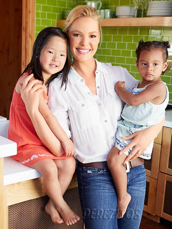 Katherine Heigl with Kids