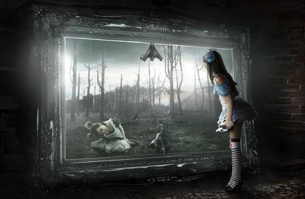 L 39 chelle de jacob les miroirs sont ils des portes vers for Comme dans un miroir