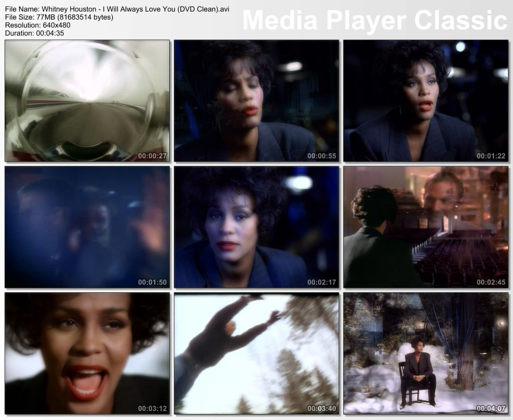Whitney Houston - I Will