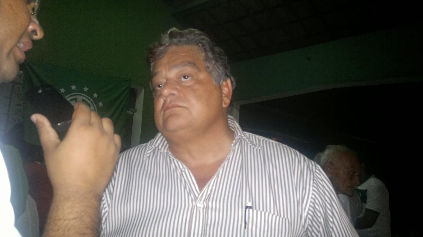 Alexandre Mirinda comenta a sua participação na gestão de João Moreira