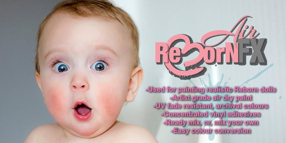 ReBornFX Air Dry Paints.