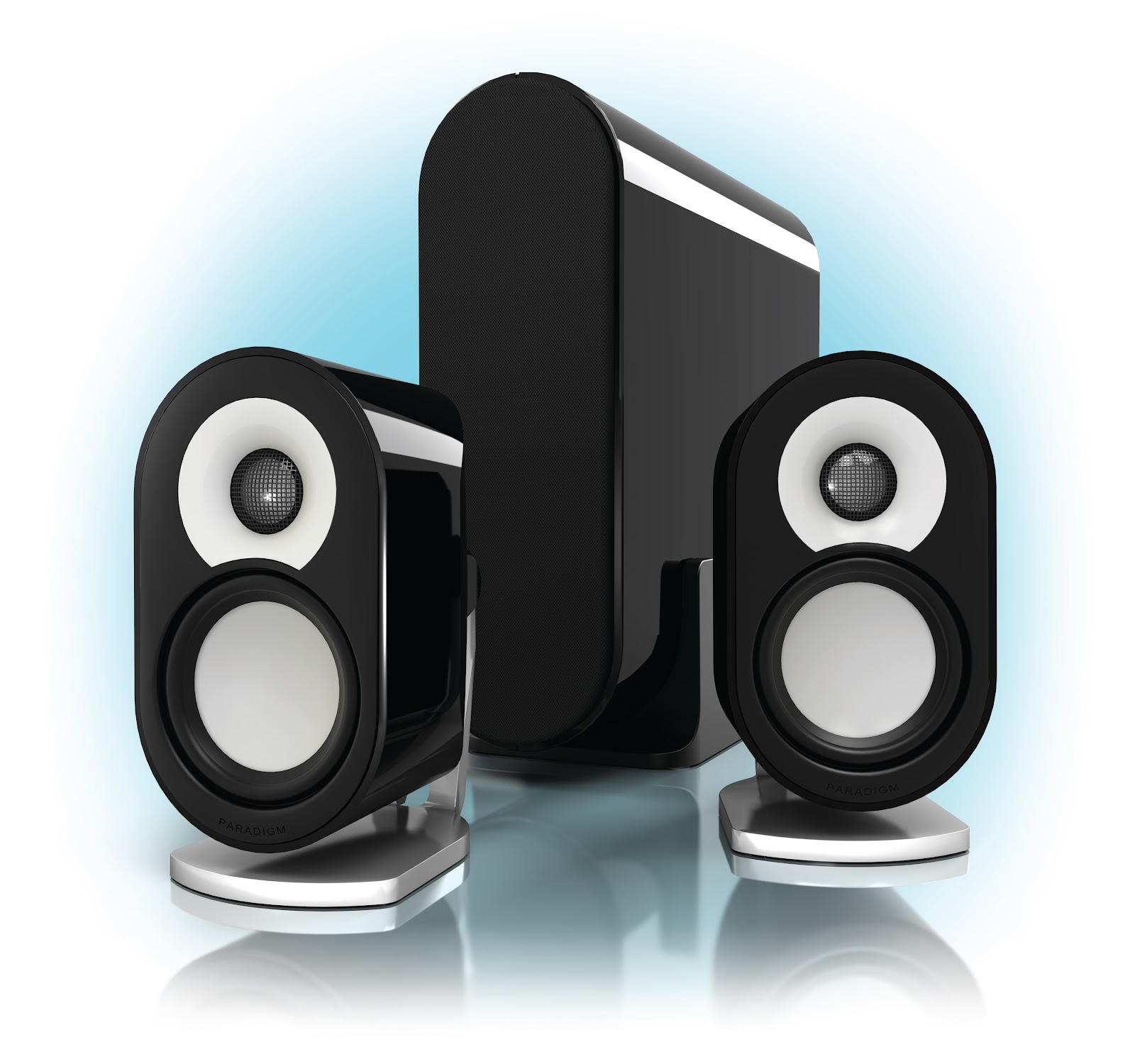 awesome computer speakers. pc mag gives the paradigm millenia ct 4.5 stars, editor\u0027s choice \u0026 1 of 10 best computer speakers!! awesome speakers e