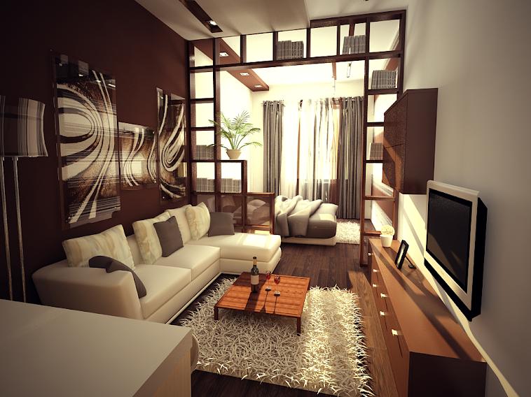 Дизайн-проект однокомнатной квартиры г.Пенза
