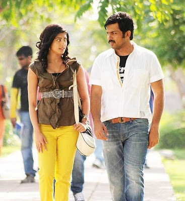 Karthi and Pranitha hot Photos