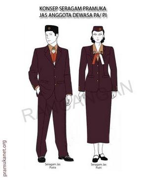 Aturan Seragam Pramuka 2012 (hasil pokja revitalisasi)