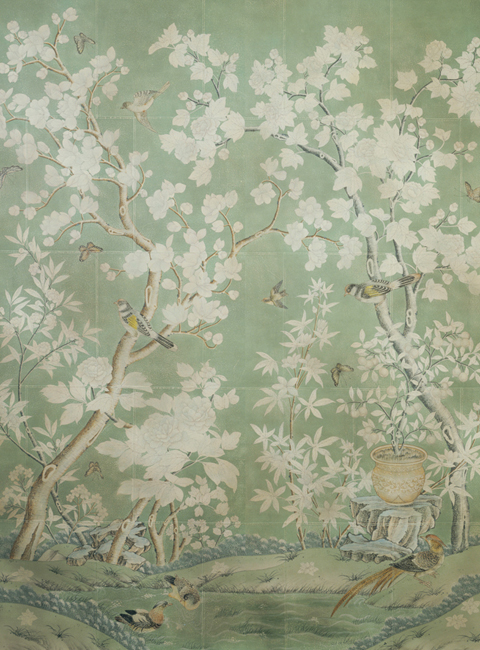 According To Toris Blog This Classic Design Was Based On An Antique Wallpaper Owned