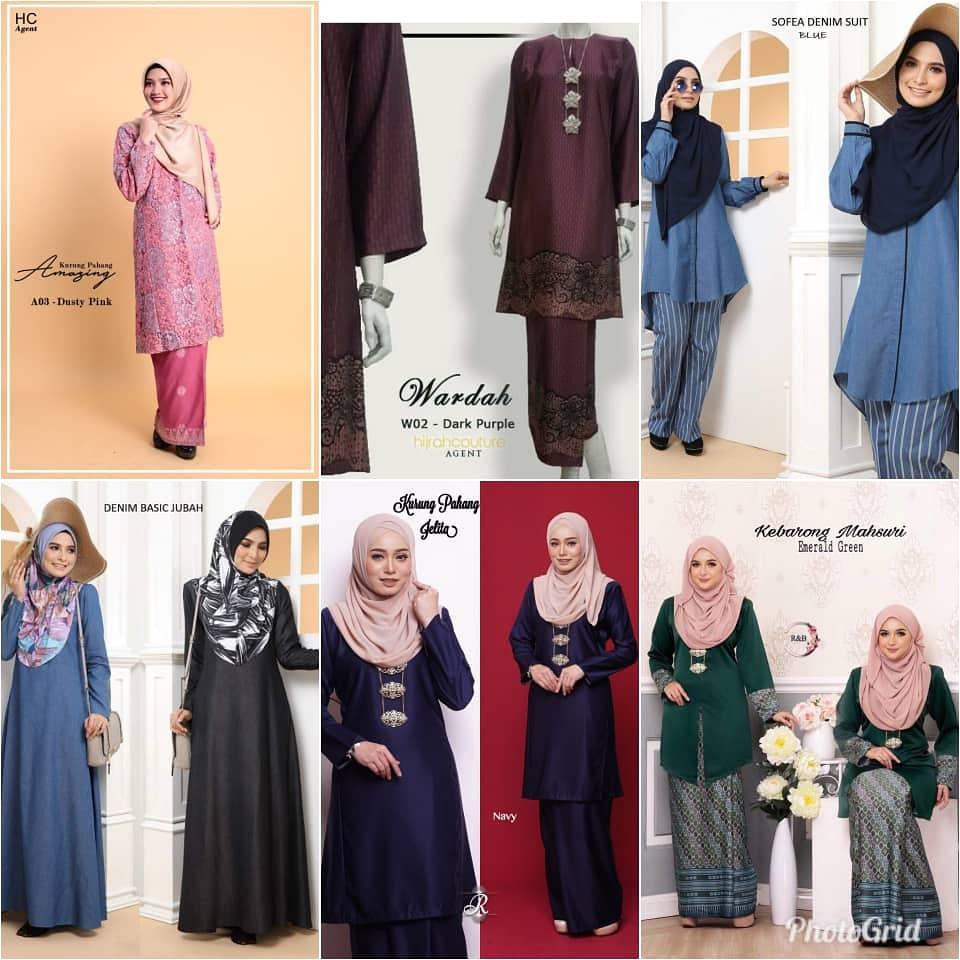 Pelbagai koleksi pakaian terbaru 2019 kini di pasaran