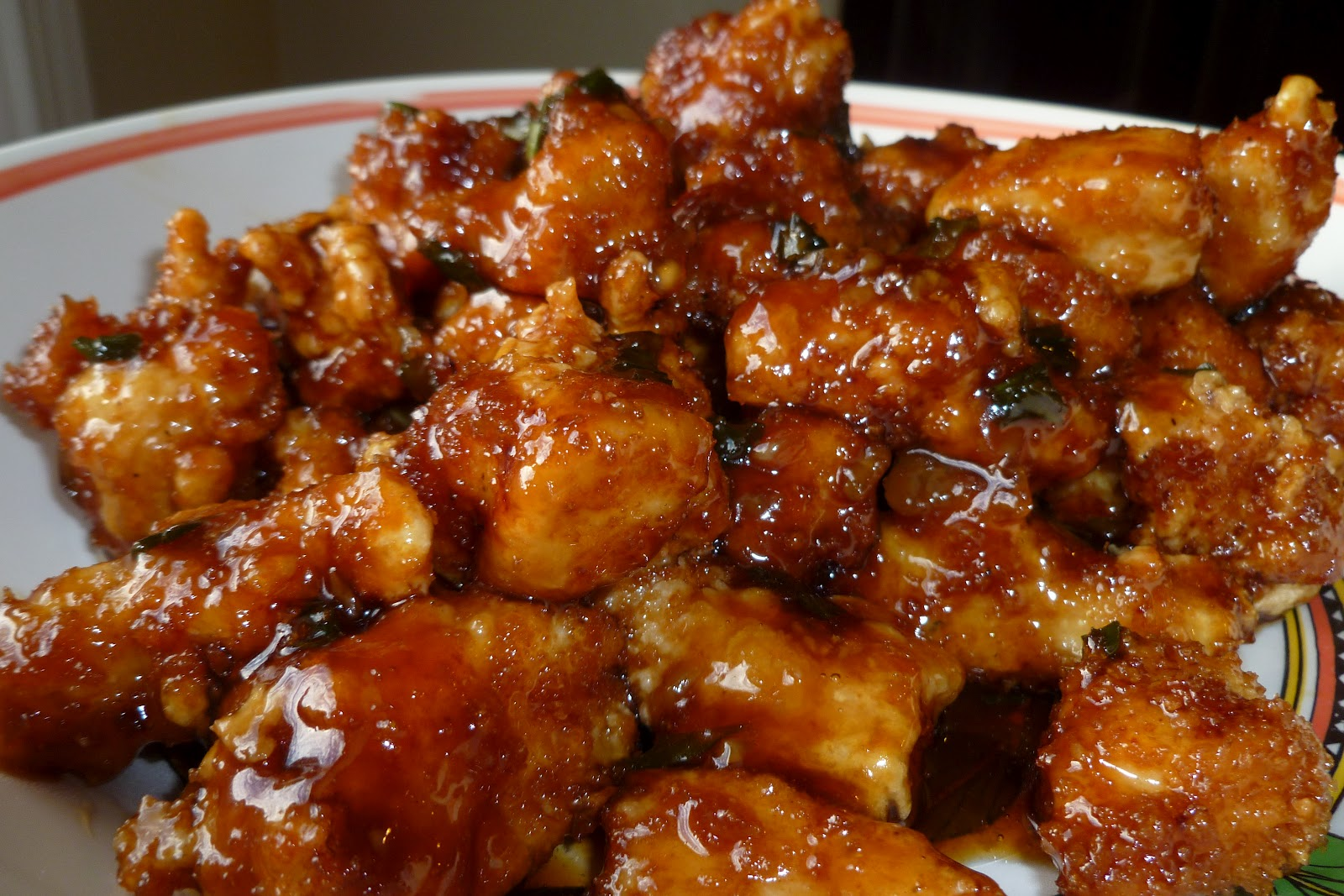Orange Chicken - made October 7, 2012 from The Noshery