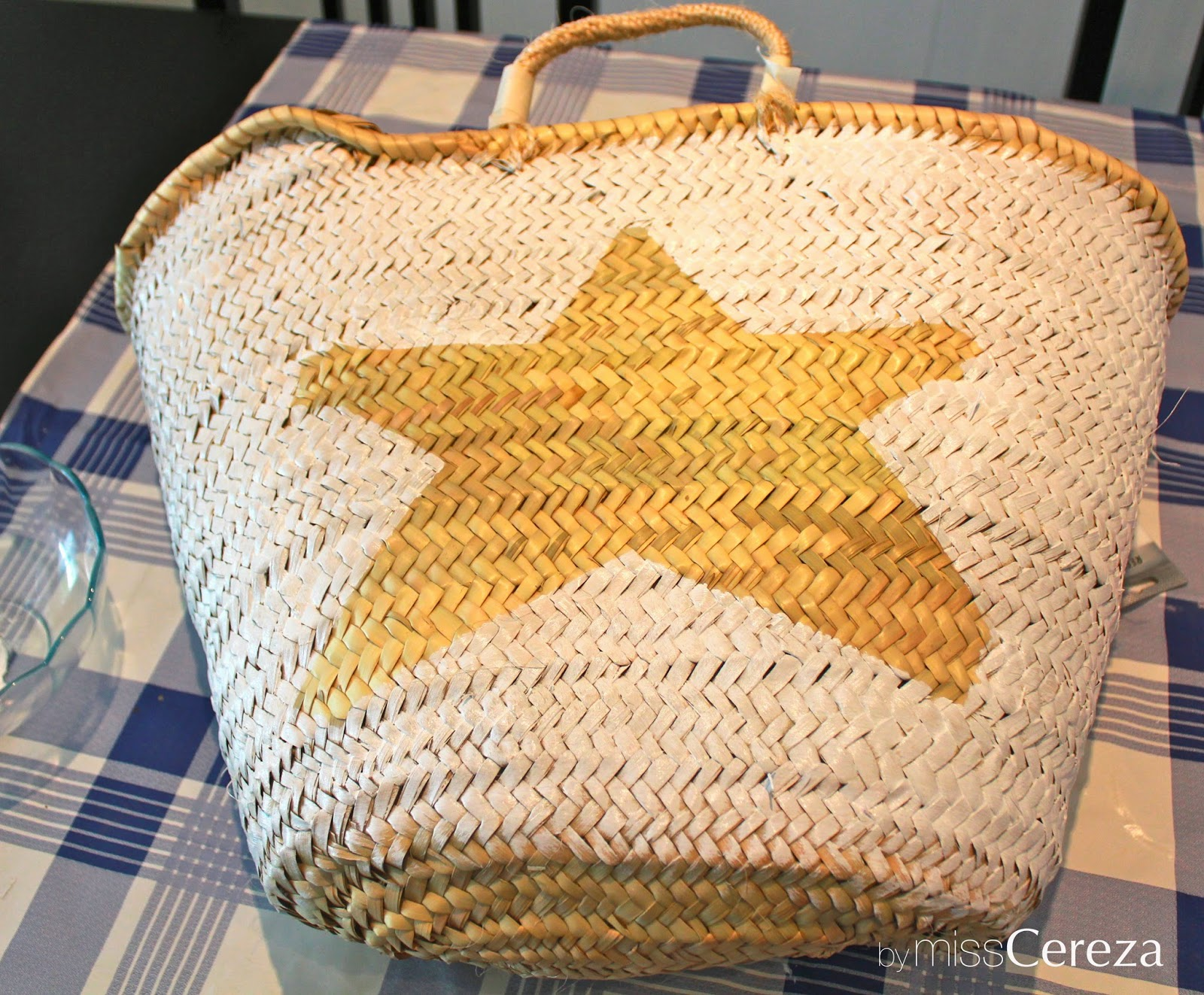 diy capazo playero