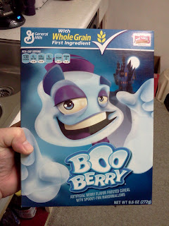 Box of Boo Berry Cereal