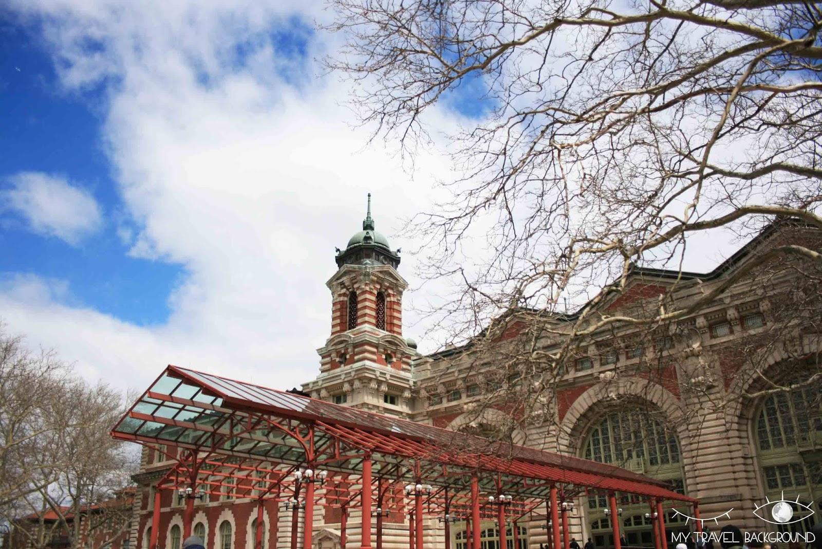 Ellis Island Escaliers