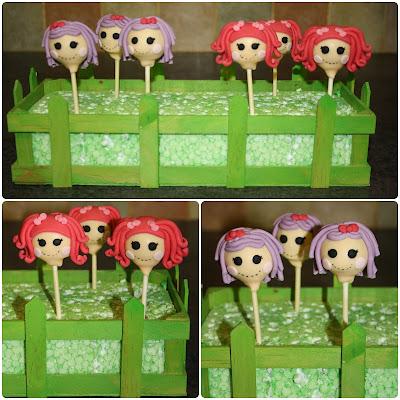 Tallulahs Bakery: Lalaloopsy Birthday Cake Pops
