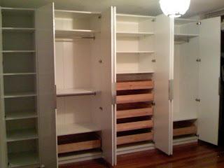 Montando muebles armarios roperos - Armarios roperos ikea ...