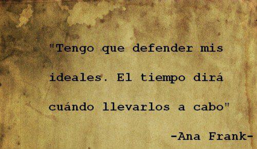 El Diario De Ana Frank Y Crónica De Una Muerte Anunciada Frases De