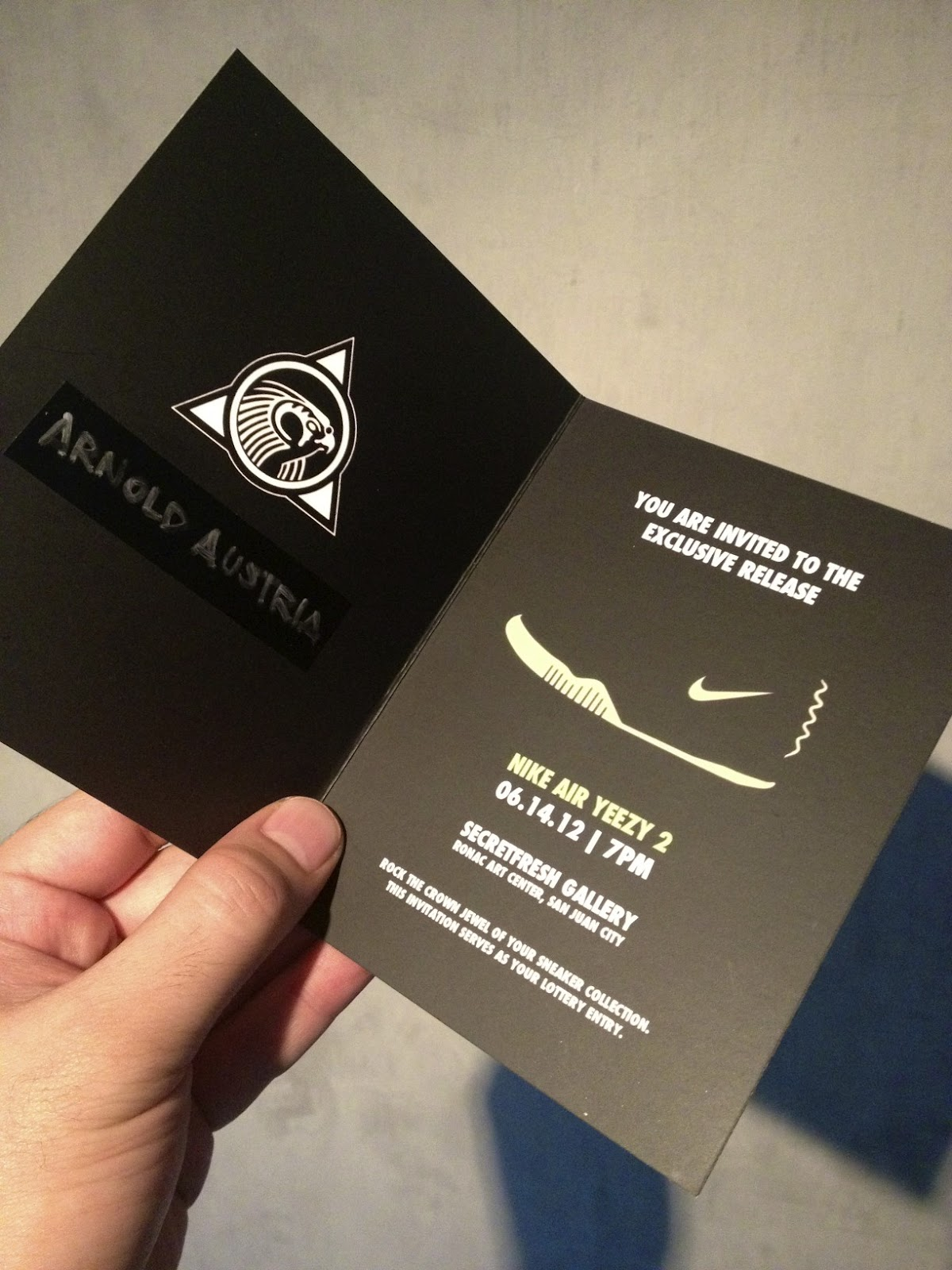i - first person singular: YEEZY 2 Exclusive Release At Secret ...