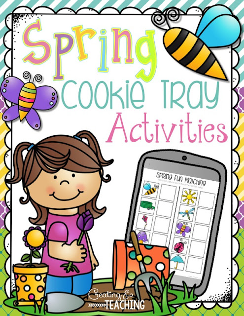 https://www.teacherspayteachers.com/Product/Spring-Cookie-Trays-1939758