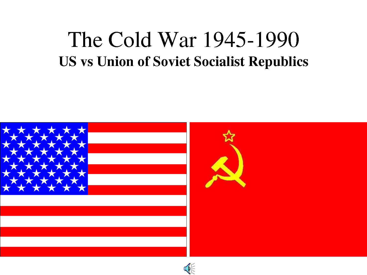the soviet union and the usa essay Us-soviet alliance, 1941-1945 although relations between the soviet union and the united states had been strained in the years before world war ii, the us-soviet alliance of 1941-1945 was marked by a great degree of cooperation and was essential to securing the defeat of nazi germany.