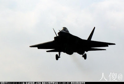 SAC J-31 china's second stealth fighter