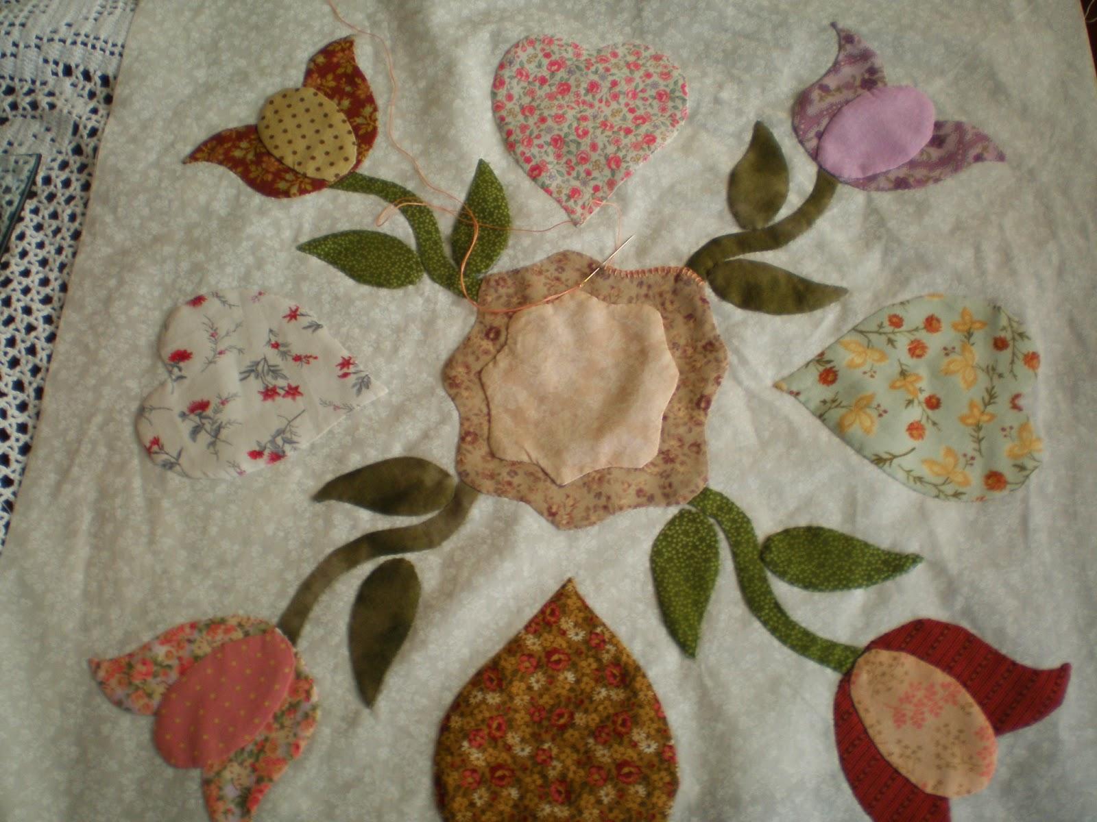 Recreo en patchwork el primer bloque de mi colcha - Colchas de patchwork modernas ...
