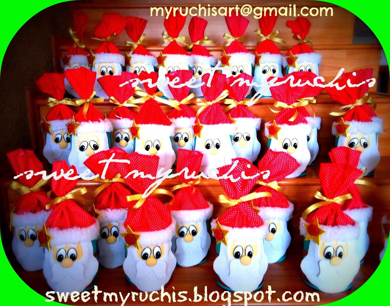 Myruchis regalos de navidad originales dulceros santa - Regalos para pedir en navidad ...