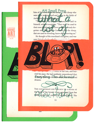 Cover image for Alex Hahn's What a lot of Blop (recycling the Alchemist)